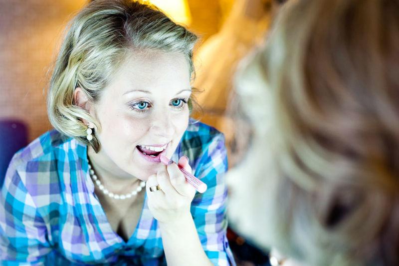 Beispiel: Portraits der Hochzeitsgäste, Foto: Sergej Falk.