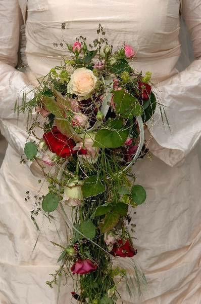 Beispiel: Hochzeitsfloristik, Foto: Blumenwerkstatt - Dorothee Meyer.