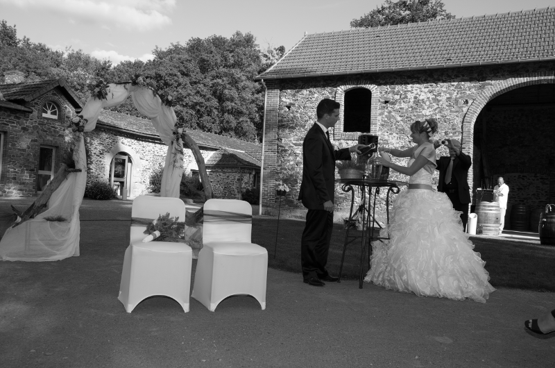 Mariage Florianne et David Montillier