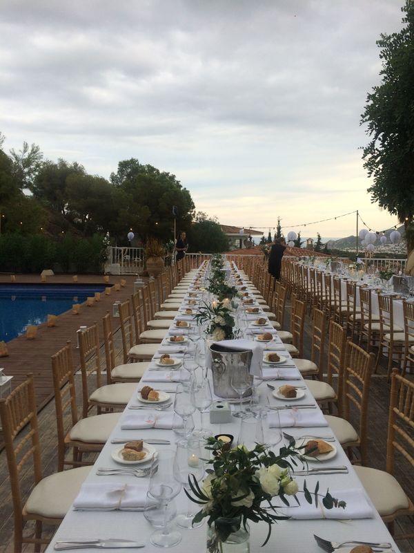 Catering & Wedding planner por Casa Del Maco en una casa privado