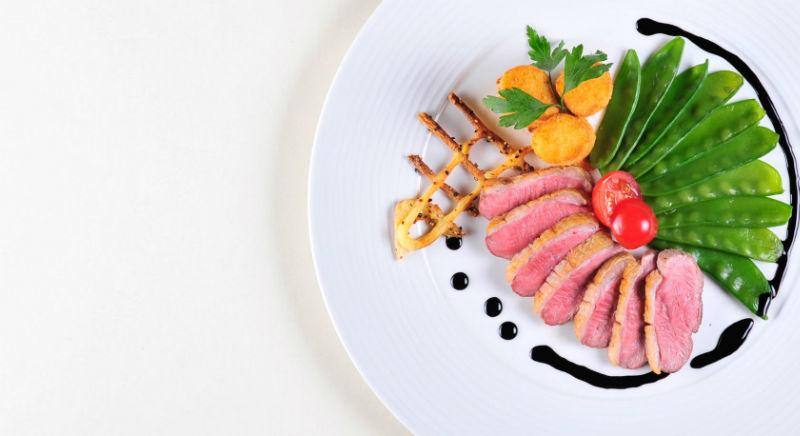 Beispiel: Gastronomie, Foto: Borgböhmer's Waldesruh.