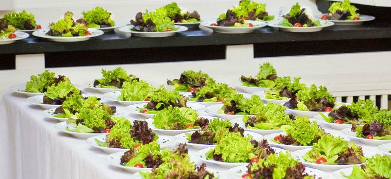 Beispiel: Gastronomie, Foto: Wasserschloss Lembeck.