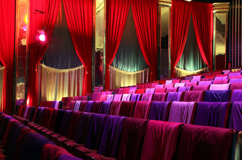 Beispiel: Großer Saal, Foto: Orphée Event.