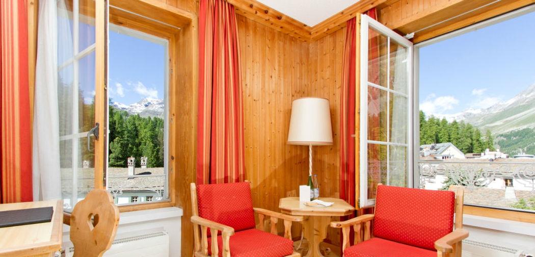 Beispiel: Zimmer mit Landschaftsblick, Foto: Hotel Edelweiss.