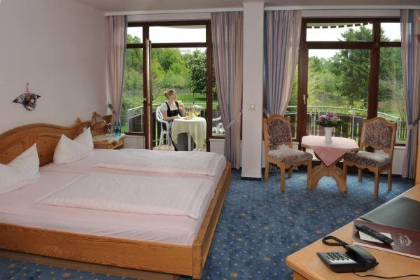 Beispiel: Hotelzimmer, Foto: Landhaus Klosterwald.