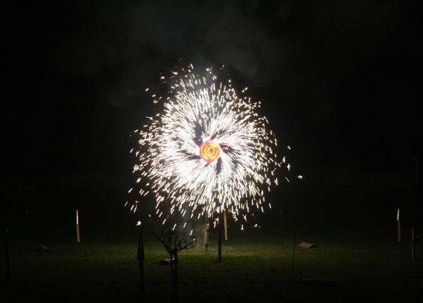 Beispiel: Feuerwerk, Foto: Schloss Schadau Thun.