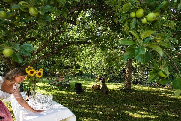 Beispiel: Garten, Foto: Bio-Hotel Alter Wirt.