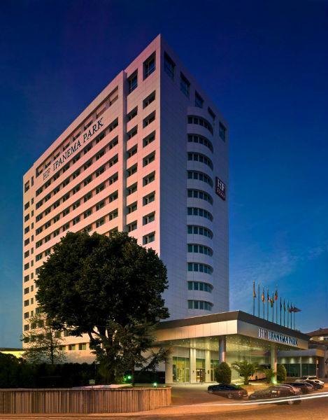 Fachada, hotel HF Ipanema Park