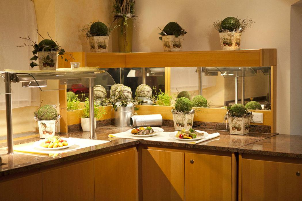 Beispiel: Restaurant, Foto: Naturhotel Schloss Kassegg.