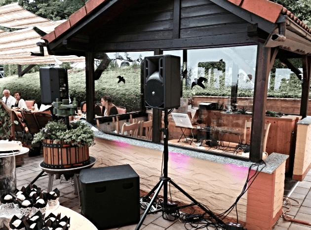 Beispiel: Auftritt, Foto: DJ Martin Meyer