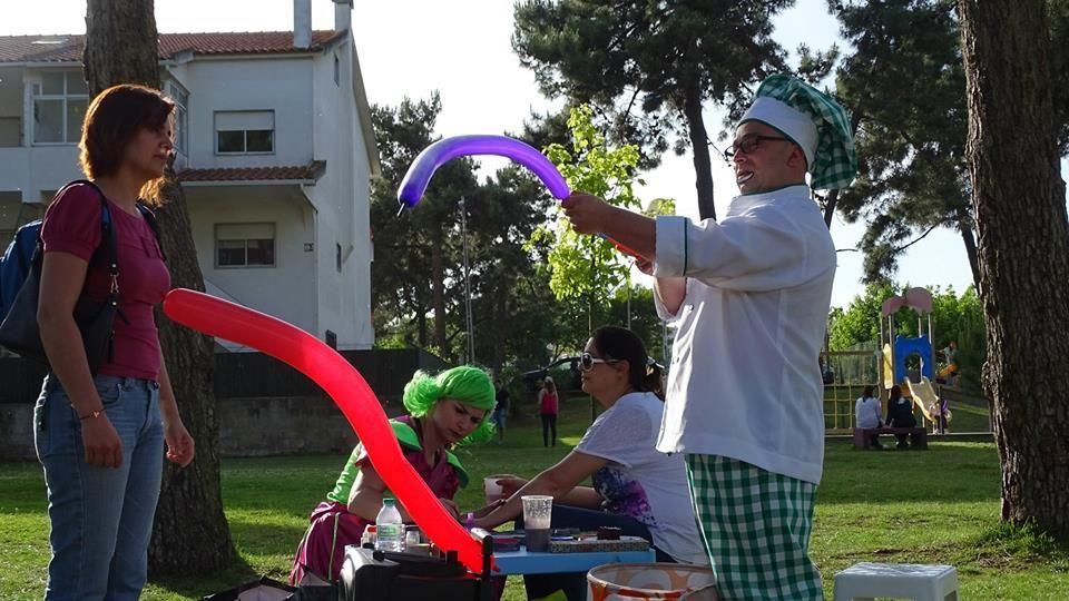 Animação Infantil Com Modelagem de Balões