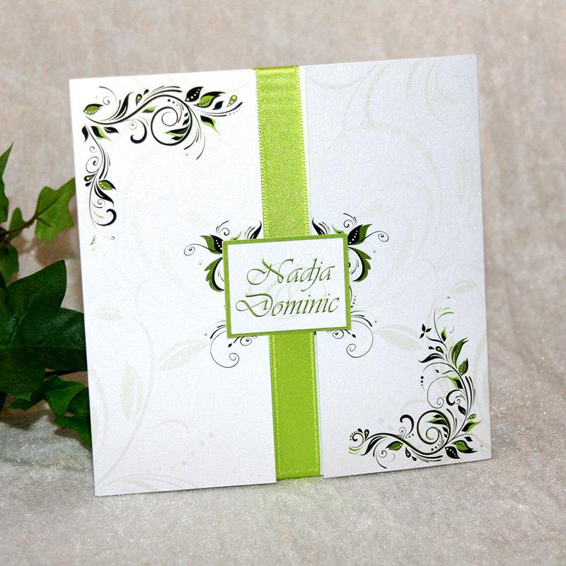 Cela-Design Hochzeitseinladungen mit Altarfalz