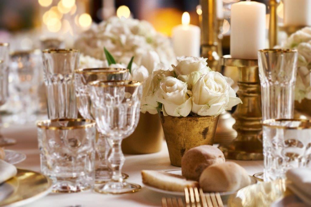 Lo Scalco catering ricevimenti Firenze Particolari di un tavolo da sogno