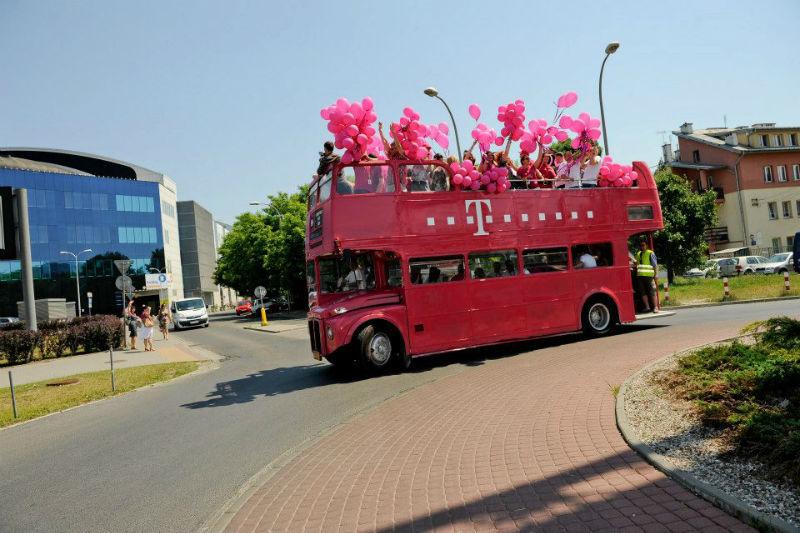 Piętrowy Autobus, Double-Decker na ślub