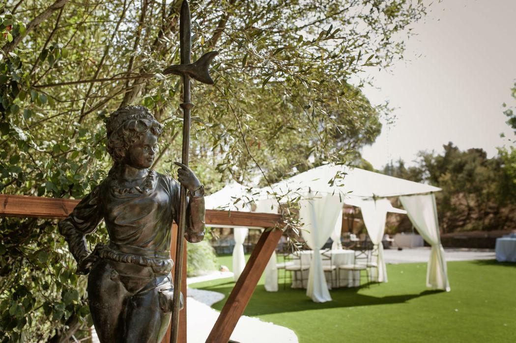 Carpa para ceremonia en Finca El Albero