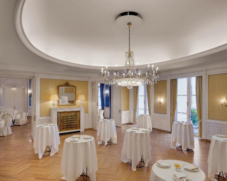 Beispiel: Goldener Saal, Foto: Hotel Atlantik Kempinski.