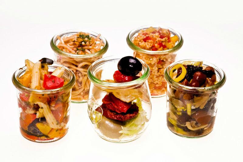 Beispiel: Verrinensortiment, Foto: Lunchbox Catering & Event.