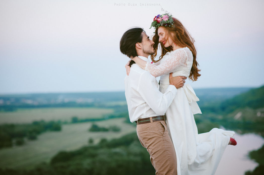 Ольга и Петр, свадьба в стиле Бохо
