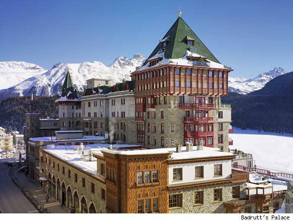 Beispiel: Außenansicht, Foto: Badrutt's Palace Hotel.