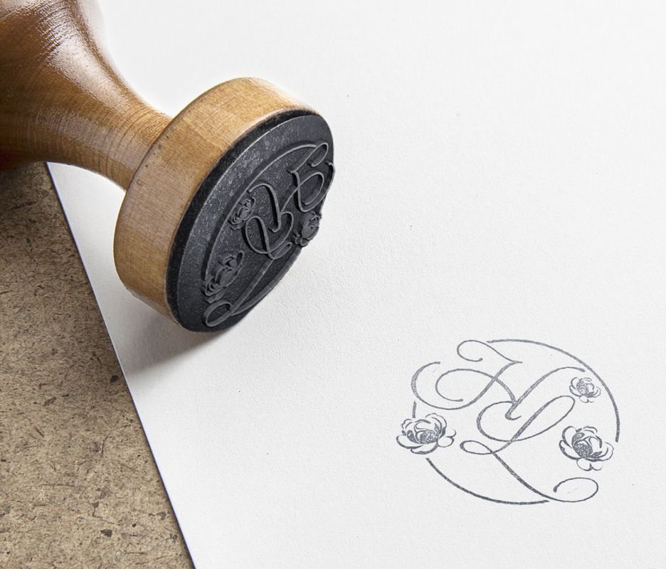 Diseño original de sello.