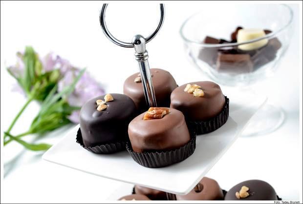 Gallette Chocolates - Bolim para a mesa de café