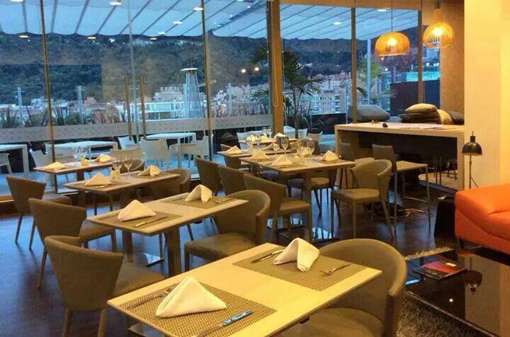 Restaurante del Hotel Cosmos Insignia