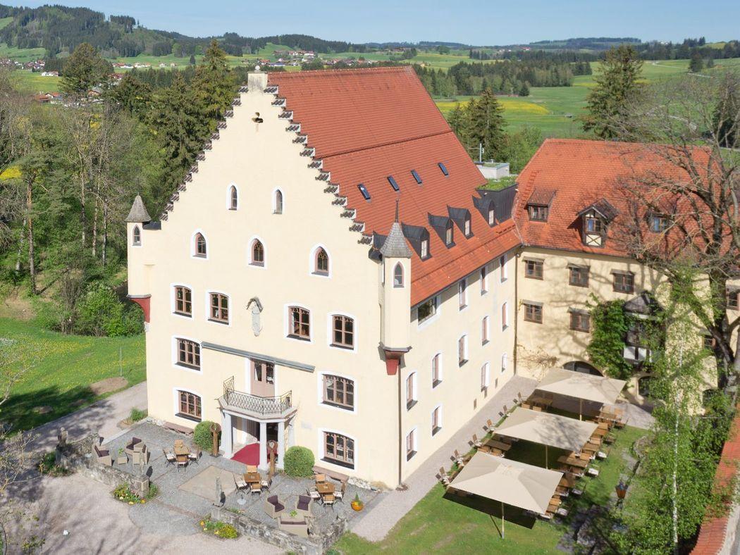 Schloss zu Hopferau - Panorama
