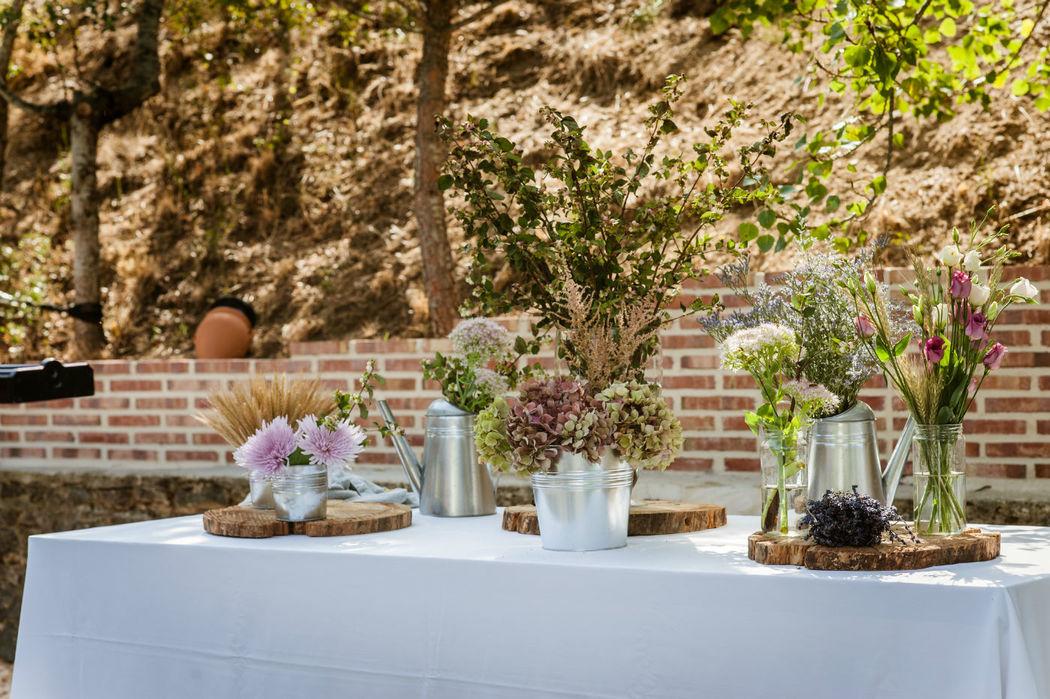 Detalles en banquetes de boda en Finca El Albero
