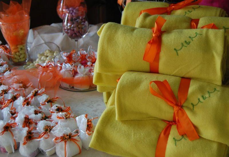 Confetti e bomboniere per gli invitati