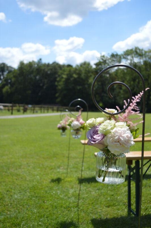 Bouquet cérémonie en extérieur