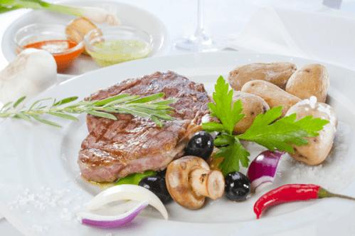 Beispiel: Gastronomie, Foto: Strandoase Surendorf.