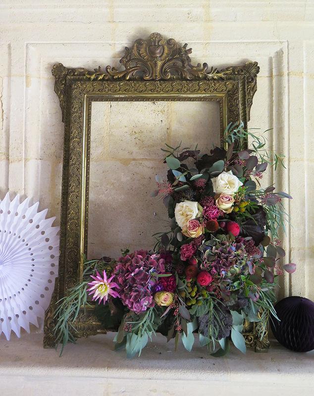 Herbes Fauves - Cadre fleuri pour lieu d'accueil