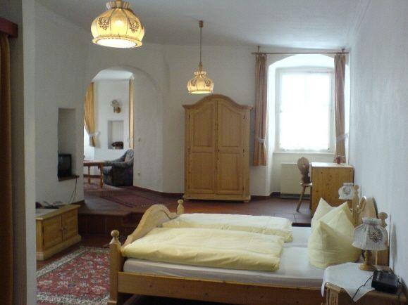 Beispiel: Suite, Foto: Schloss Wiesenthau.