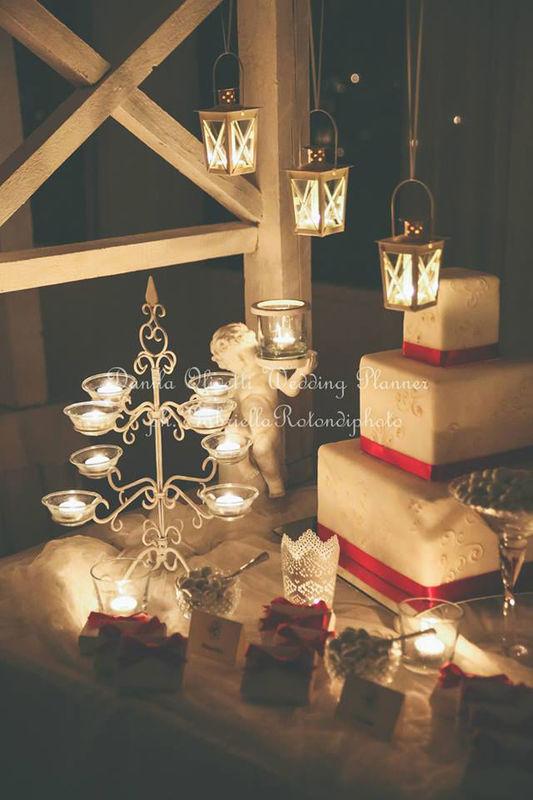 Danila Olivetti - winter wedding - confettata