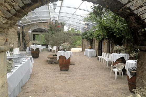 Domaine de Lucain - la cour