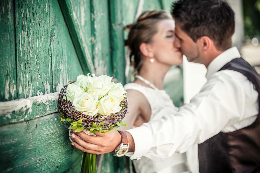 Beispiel: Romantische Hochzeitsfotos, Foto: Christian Pöltl.