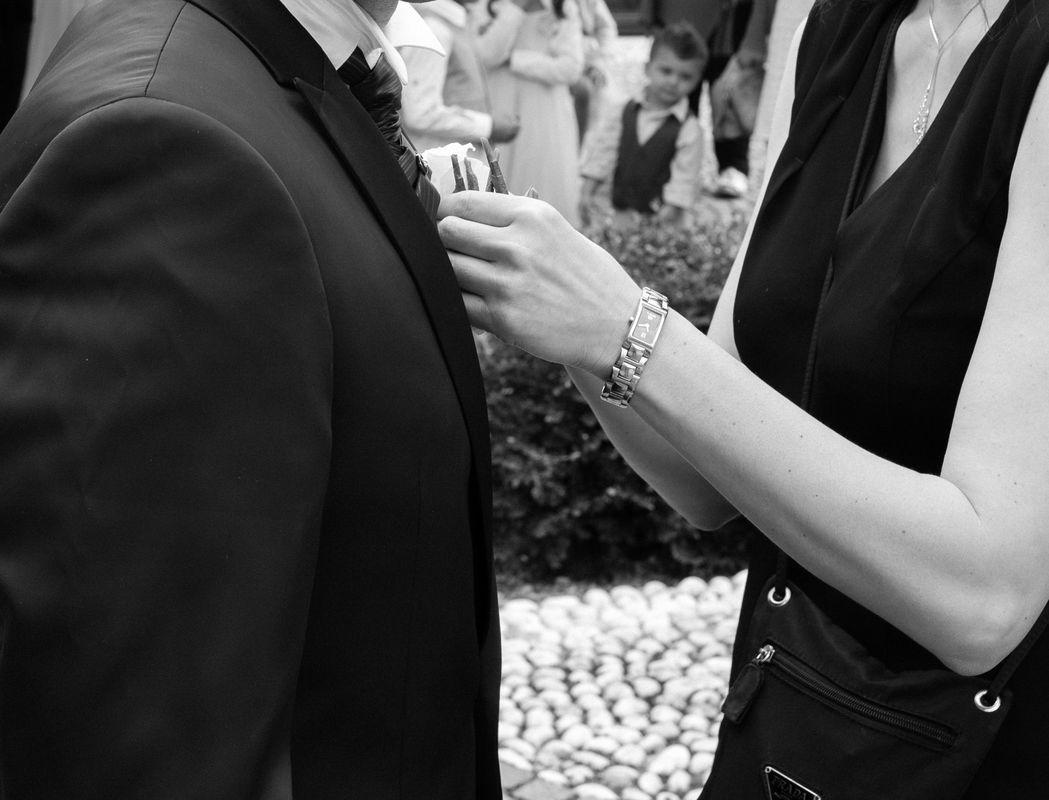 Sposo e bottoniera