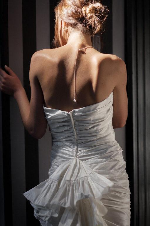 Bijoux Nicole La Bruyère  Pendentif perle de Majorque poire avec pendant dos finition perle de Majorque Poire 8 mm 60 €