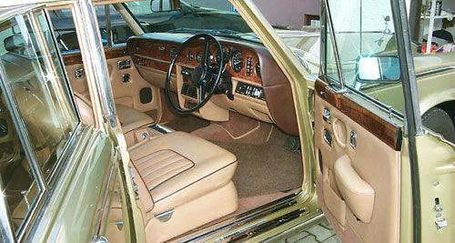 Beispiel: Innenansicht, Foto: Classic Car Chauffeur Service.