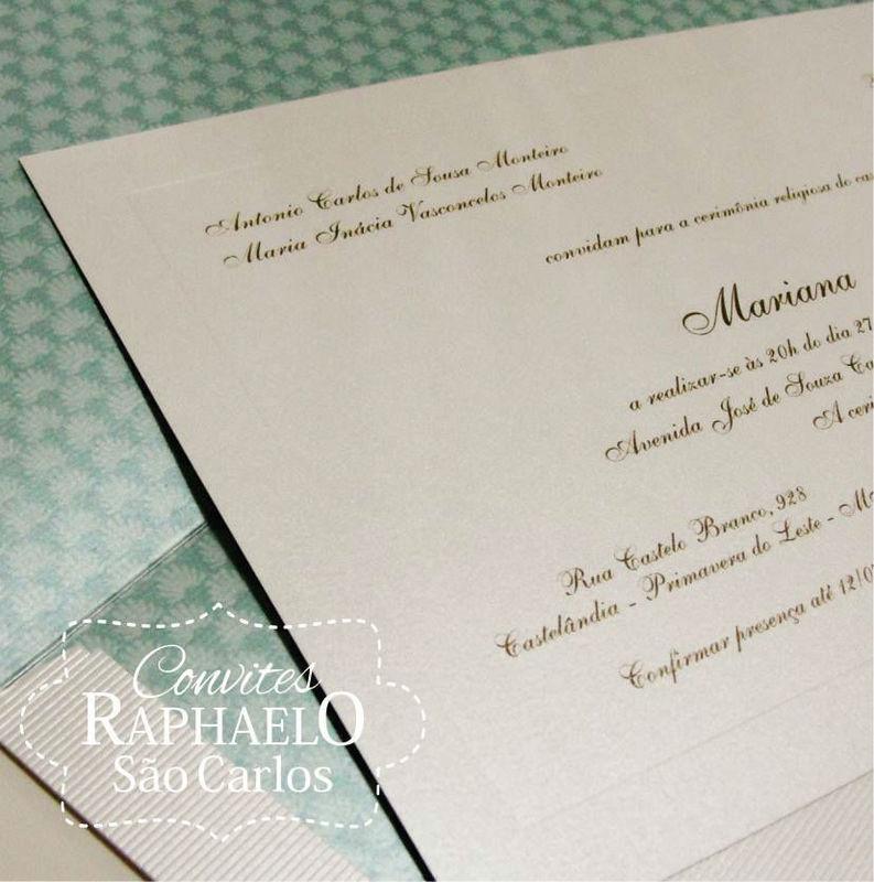 Convites Raphaelo