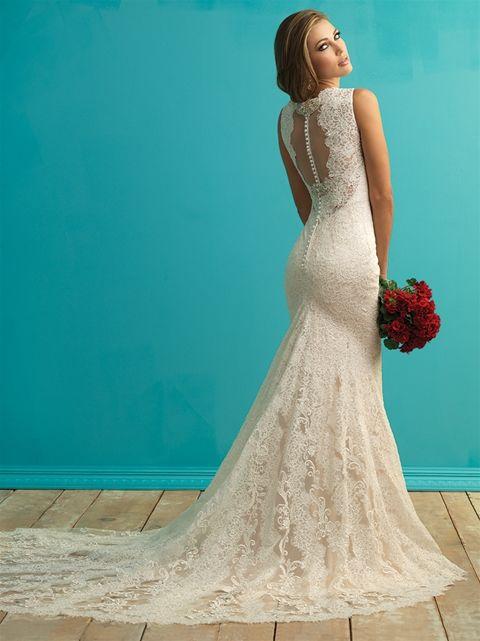 Marca: Allure Bridals. Modelo: 9253 - espalda.