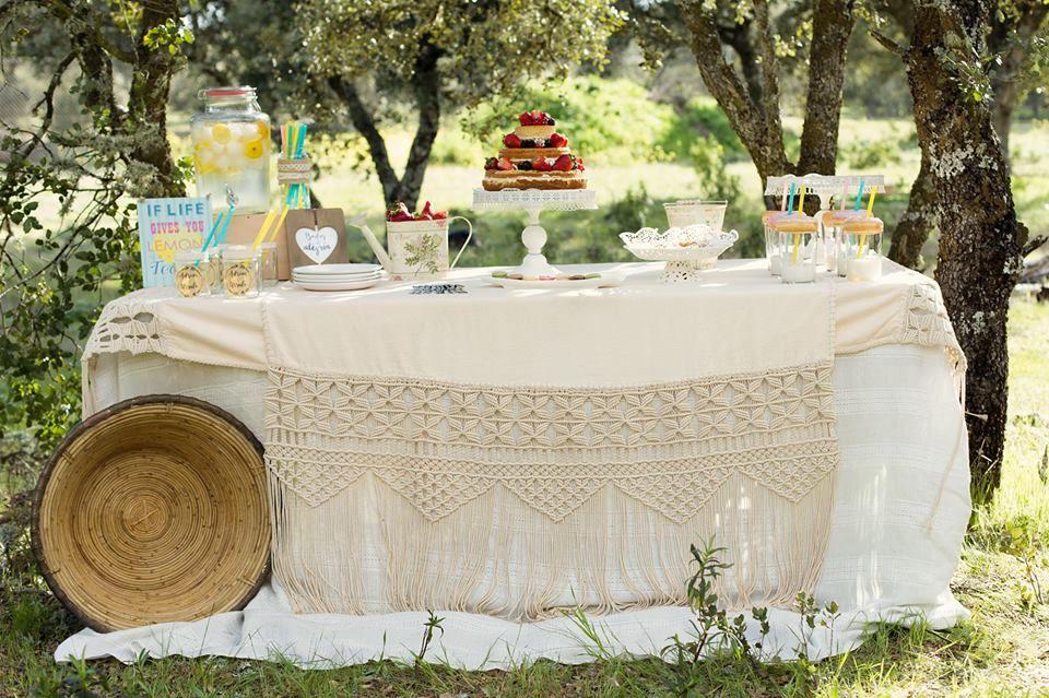 Bodas & Alegria Catering casero y decoración de mesas