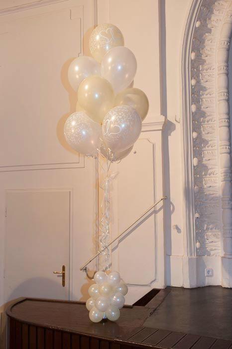 Beispiel: Wunderschöne Dekoelemente, Foto: Ballons & Ballons.