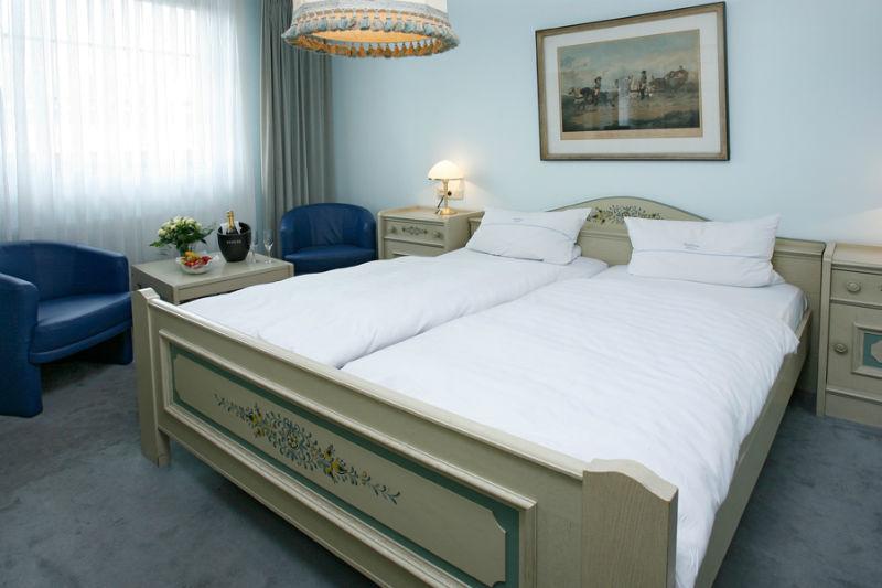 Beispiel: Hotelzimmer, Foto: Landhaus Wieler.
