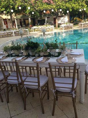 Ambientación boda campestre