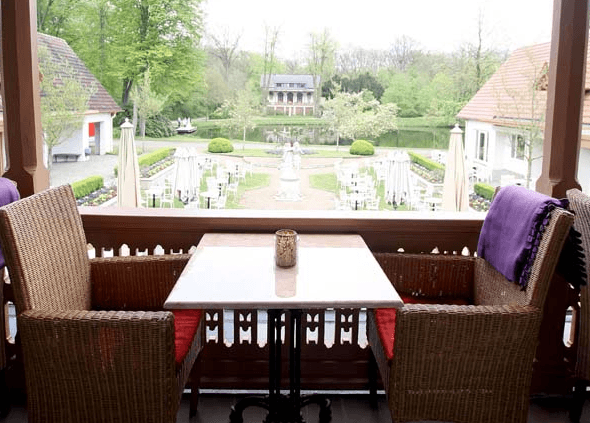 Beispiel: Veranda, Foto: Meierei Bremen.