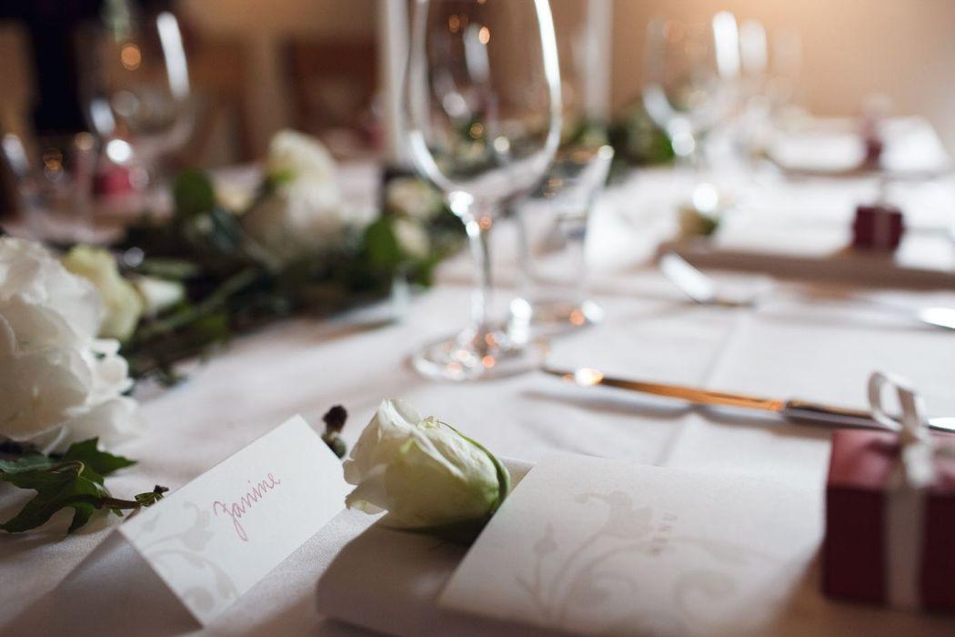 Festtafel Hochzeitsdekoration, Foto: Christian Krüger, Hochzeitslicht für Engel 07