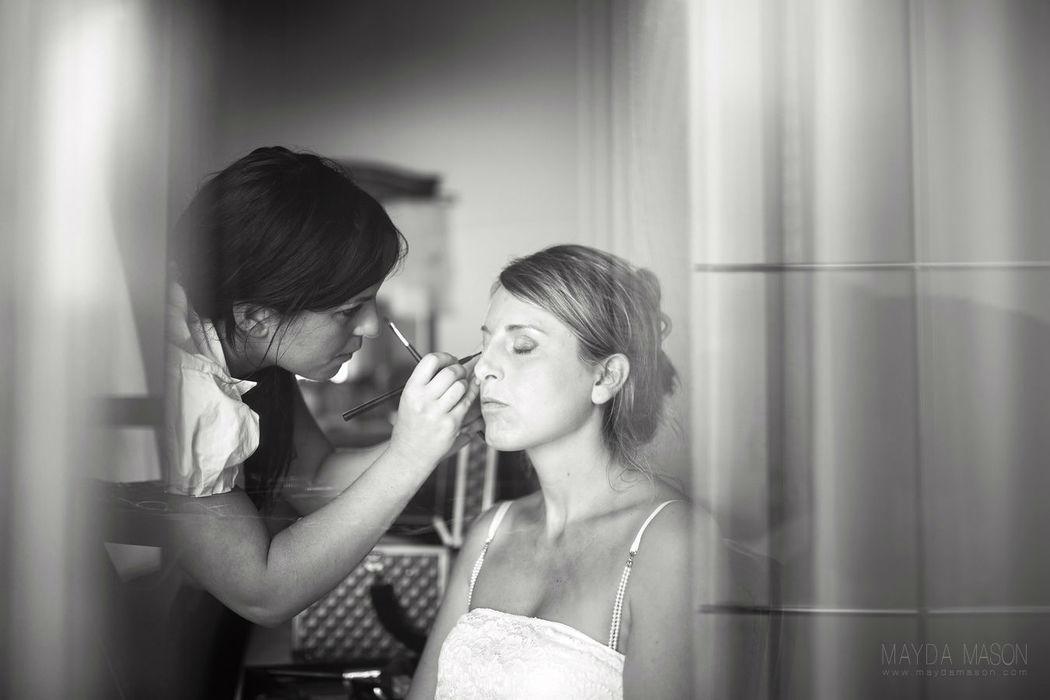 preparazione della sposa in costiera amalfitana