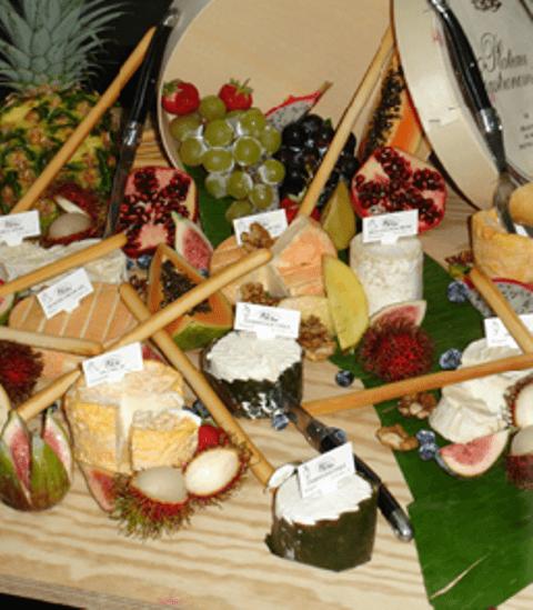 Beispiel: Käseplatte, Foto: Restaurant & Café Drachenhaus.
