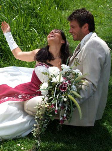 Beispiel: Kleider zum Wohlfühlen, Foto: Traut euch Brautsalon.